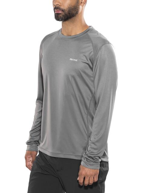 Marmot Windridge - Camiseta de manga larga Hombre - gris